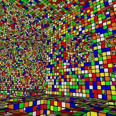 В мире Кубика Рубика