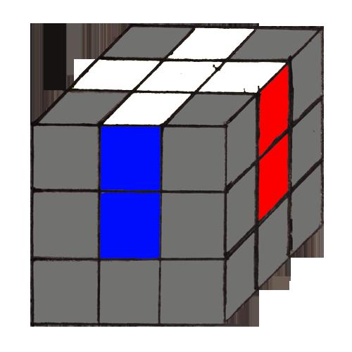 Этапы сборки кубика Рубика 3х3
