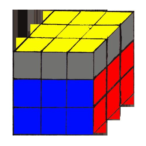 последнего слоя Кубика